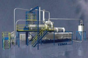 Multifunctional decontamination plant for Sterilization and pasteurization of spices, herbs and grains