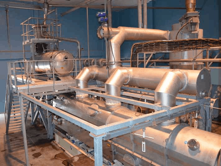PasteurizerSterilizer - DryerCooler Installation and Dust Separator