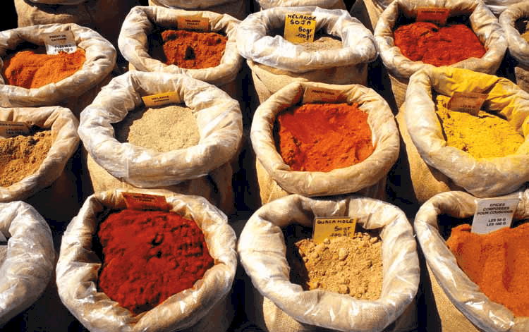 Sterilization and pasteurization of spices, powder, herbs and grains