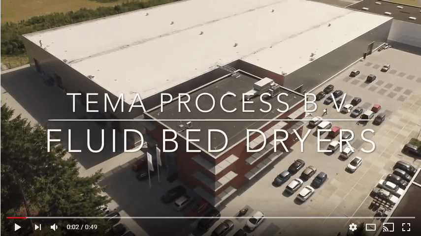 temaprocess fluid bed dryers video