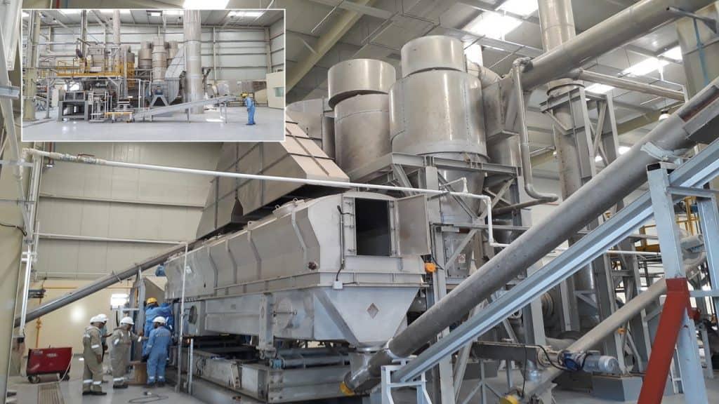 Commissioning-Sea-Salt-(NaCl)-TEMA-Process-Fluid-Bed-Dryer