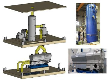 Tema Process supplies advanced fluid beds for salt drying in a large range of capacities