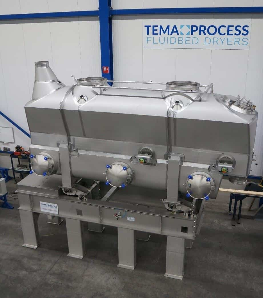 Lactose Drying: Tema process