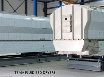 Large capacity Fluid Bed Dryer