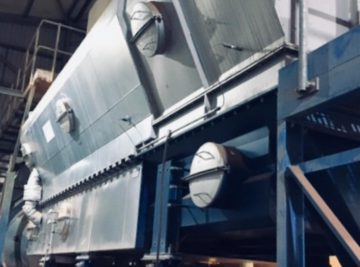 Fluidbed dryers/coolers are used for handling materials coming from quarries like dolomite, sand, limestone, gypsum, clay