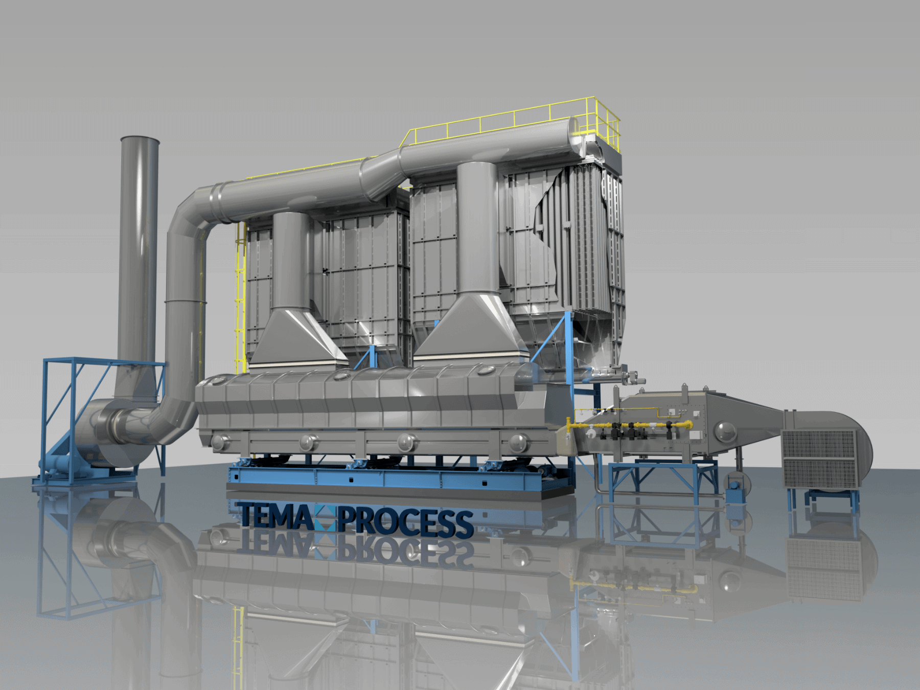 Tema process fluid bed dryer
