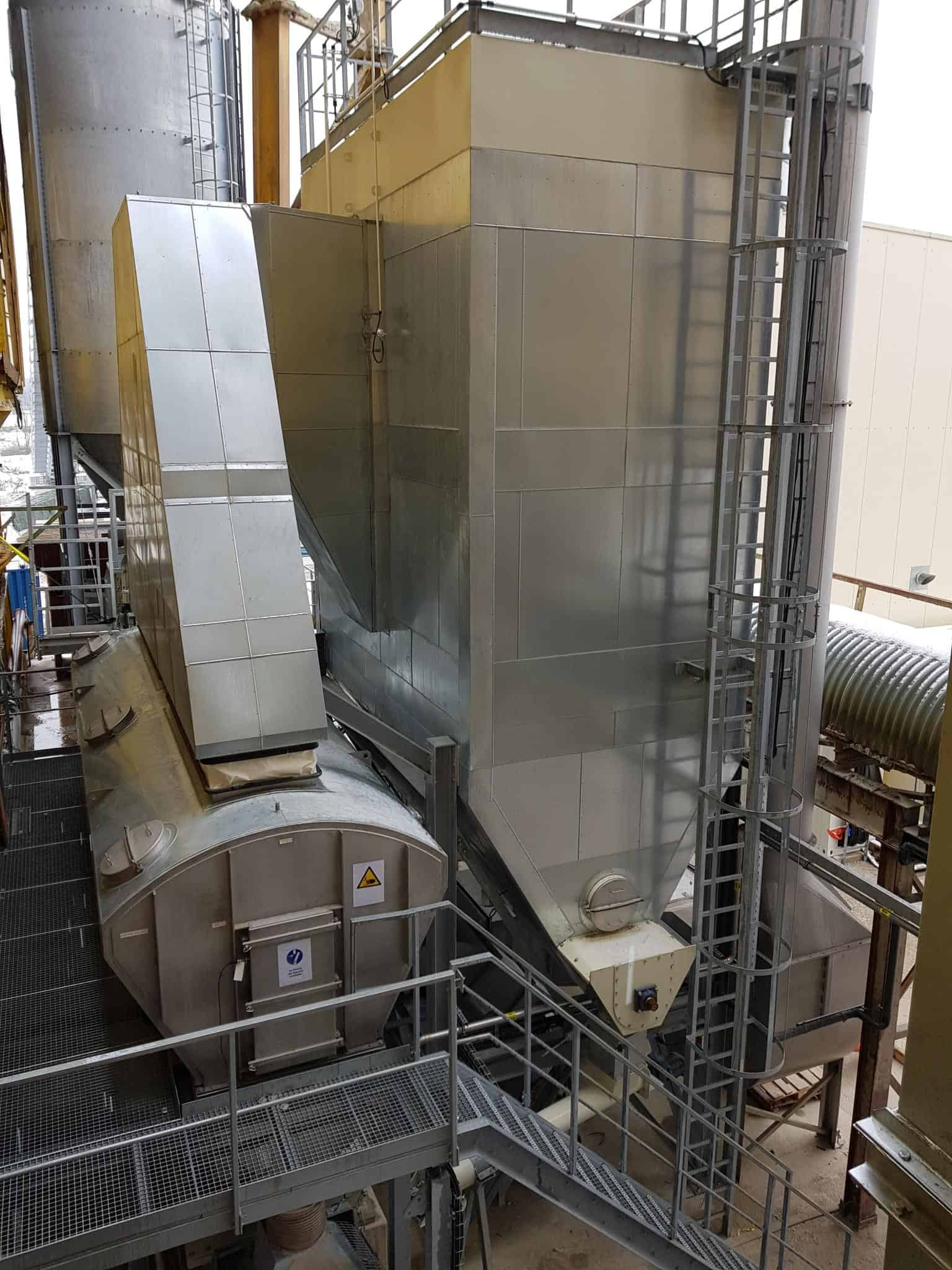 Drying minerals with a heavy-duty Tema Fluid Bed dryer