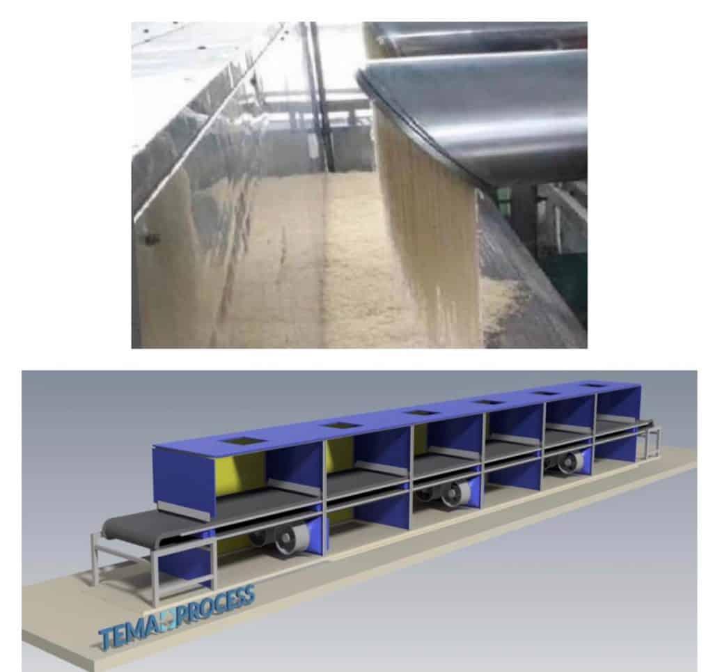 Tema Gelatin belt-tunnel dryer